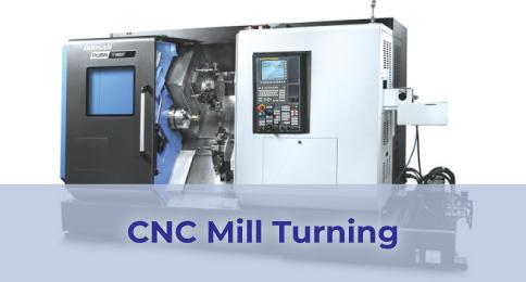 CNC Mill Turning