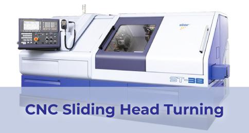 CNC Sliding Head Turning